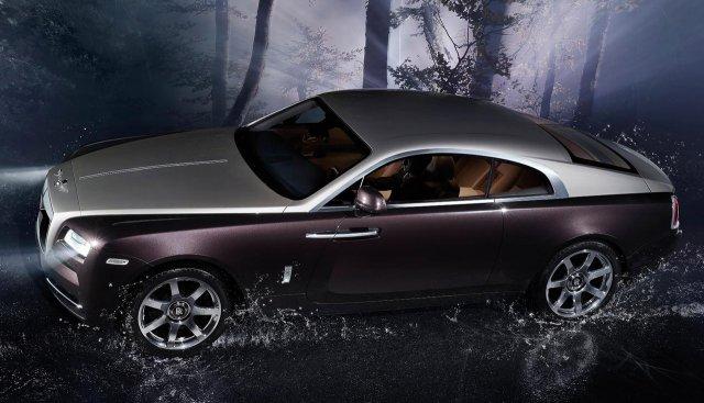 Единичная стоимость Roll-Royce Wraith - 245 тыщ евро