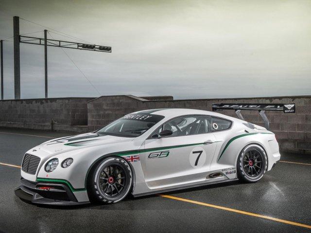 Bentley готовит новый Continental GT3
