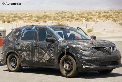 Шпионские фото нового Nissan X-Trail взяли в сети