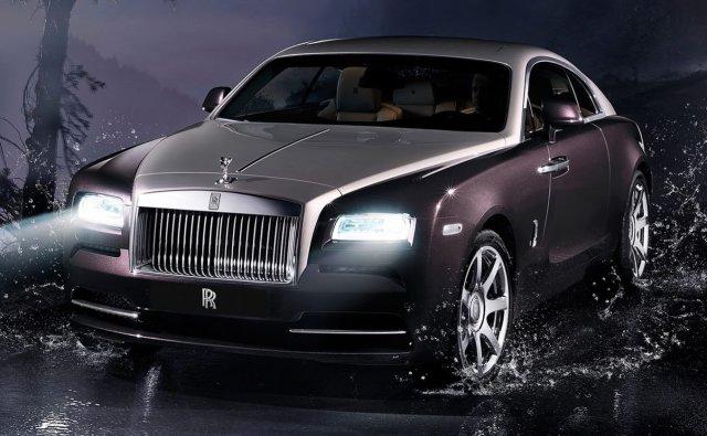 Единичная стоимость Roll-Royce Wraith - 245 000 евро