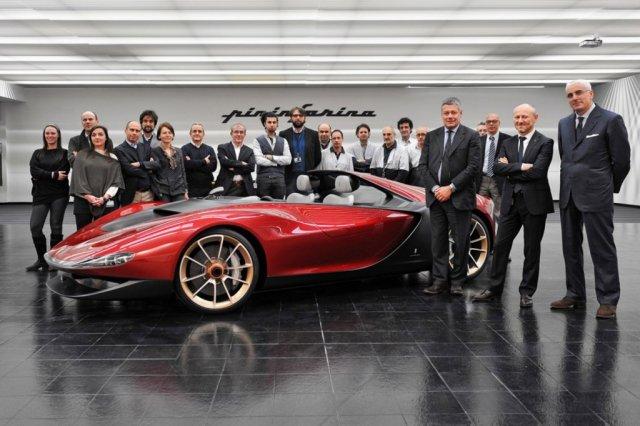 Pininfarina Sergio выпустят небольшой серией