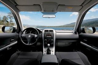 Suzuki Grand Vitara. Тест-драйв Suzuki Grand Vitara 3d: городской бизончик