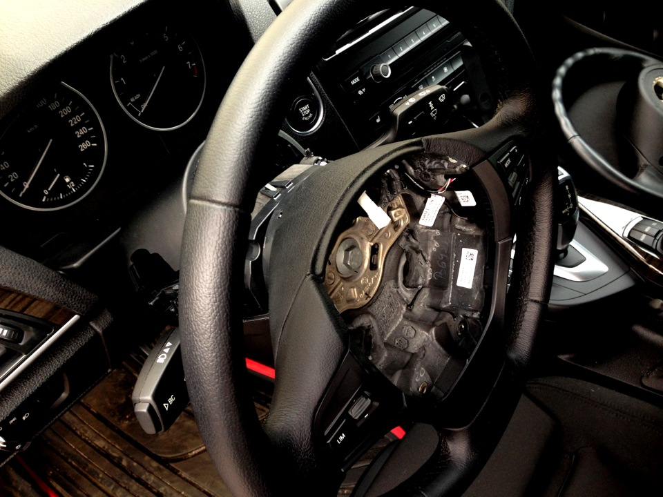 Как поставить M руль на BMW своими руками