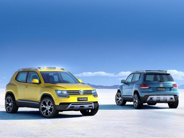 Небольшой кроссовер Volkswagen Taigun поступит в продажу