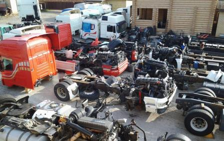 Разборка грузовиков как популярная услуга