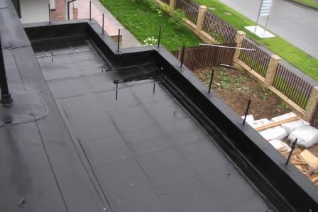 Какая гидроизоляция лучше для плоской крыши